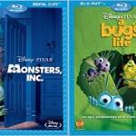 Revelados detalhes de Monsters Inc. e A Bug's Life em Blu-ray