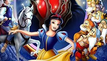 Branca de Neve na estreia da Coleção Diamante