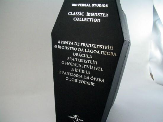 """DVD que não se vê por aí: """"Universal Studios Classic Monster Collection"""""""