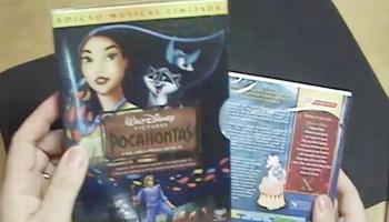 Vídeo: Pocahontas e Bolt em DVD!