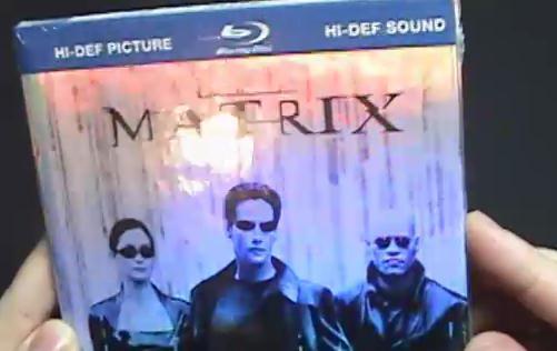 Vídeo: Matrix em Blu-ray Book!