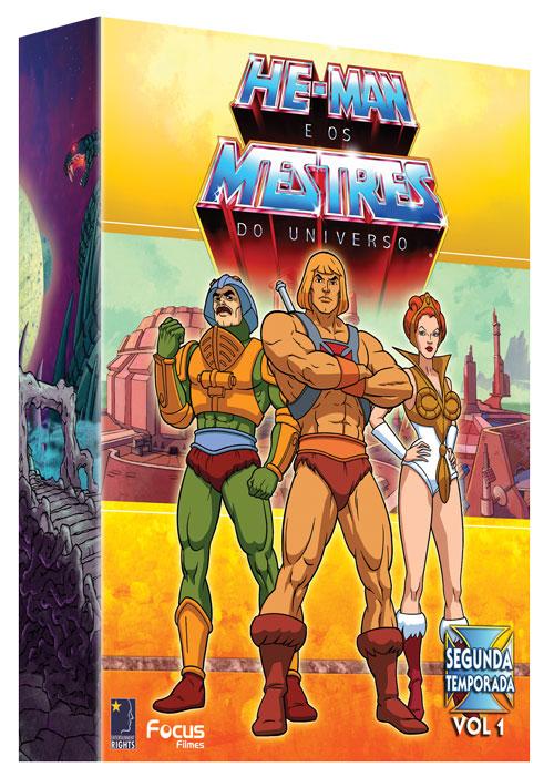 Box de DVD com a 2ª temporada de He-Man