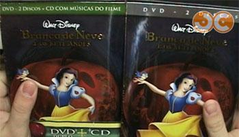 Vídeo: Branca de Neve em DVD! [ATUALIZADO]
