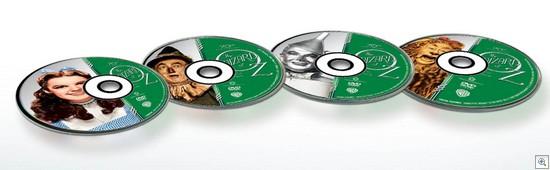 Magico de oz pack especial labels dvds