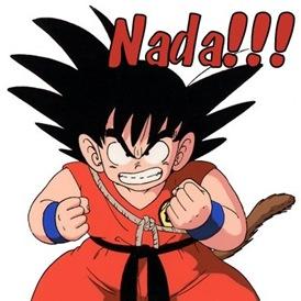 Goku little peeved-1