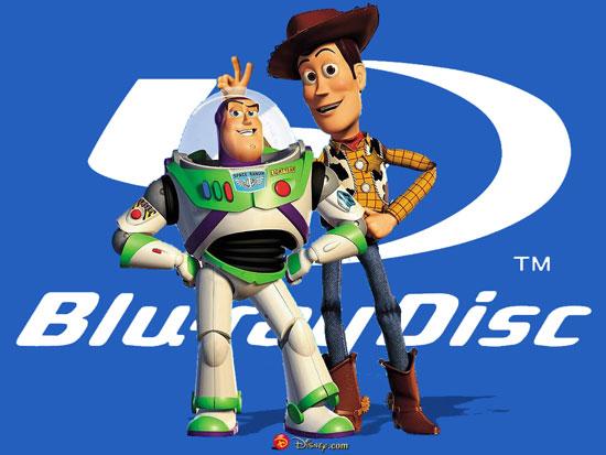 Toy Story e Toy Story 2 em Blu-ray em 2010