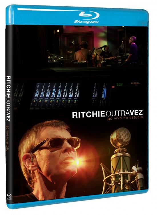 "Blu-ray resenha: Ritchie ""Outra Vez Ao Vivo No Estúdio"""