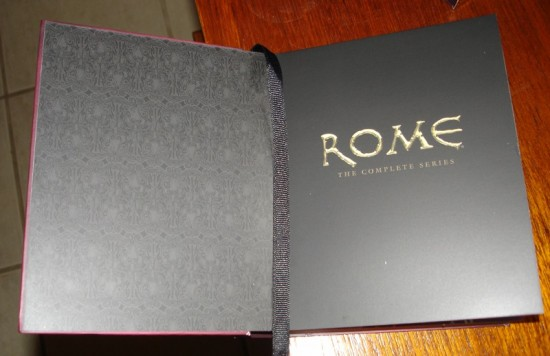 Post do Leitor: Rome: The Complete Series [Blu-ray]