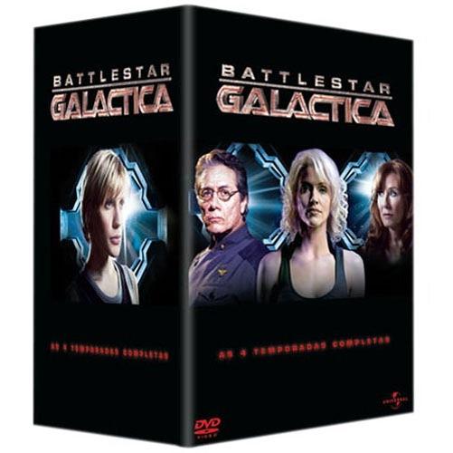 Caray! Universal requenta DVDs de Galactica e Americanas.com promove o requentamento!