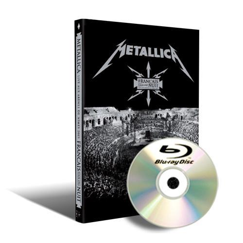 """BD Resenha: Metallica - Live in Nimes """"Français Pour Une Nuit"""""""