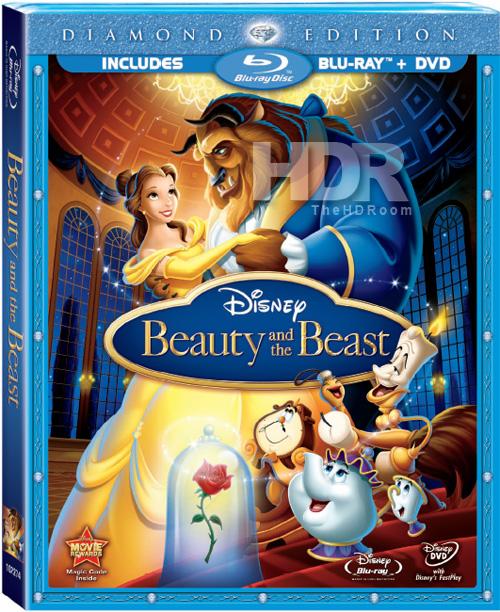 """Primeiras imagens de """"A Bela e a Fera"""" em Blu-ray divulgadas (EUA)"""