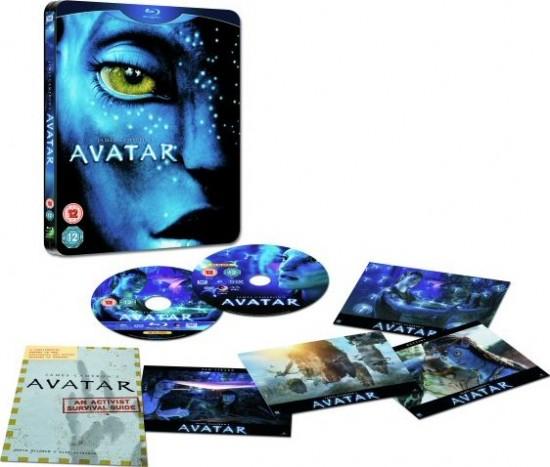 Primeira imagem de Avatar em Blu-ray no Reino Unido!