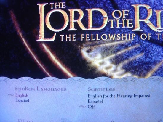 CARAY! Trilogia Senhor dos Anéis em Blu-ray foi VARNERIZADA nos EUA!