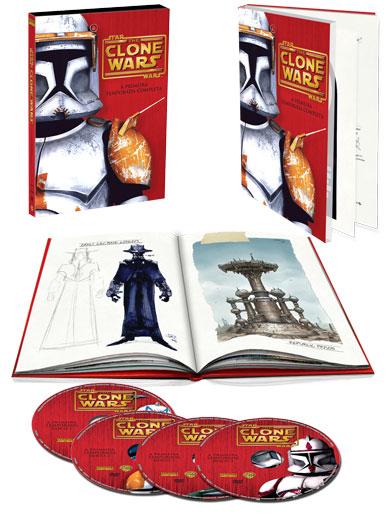 O sumiço de Star Wars: The Clone Wars: A 1a. Temporada Completa