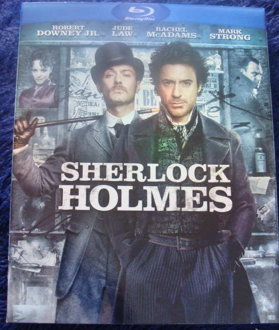 Post do Leitor: Blu-ray de Sherlock Holmes (EUA)
