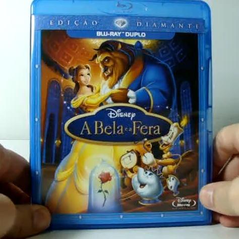 Vídeo: A Bela e a Fera [Blu-ray - SEM LUVA]