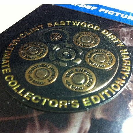 Galeria do dia: Dirty Harry Ultimate Collector's Edition (Blu-ray EUA)