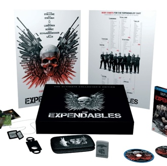 Galeria COM DICA! The Expendables Ultimate Collectors Edition (Blu-ray Holanda)