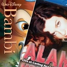 Humor: Bambi versus Alanis em Blu-ray no Brasil