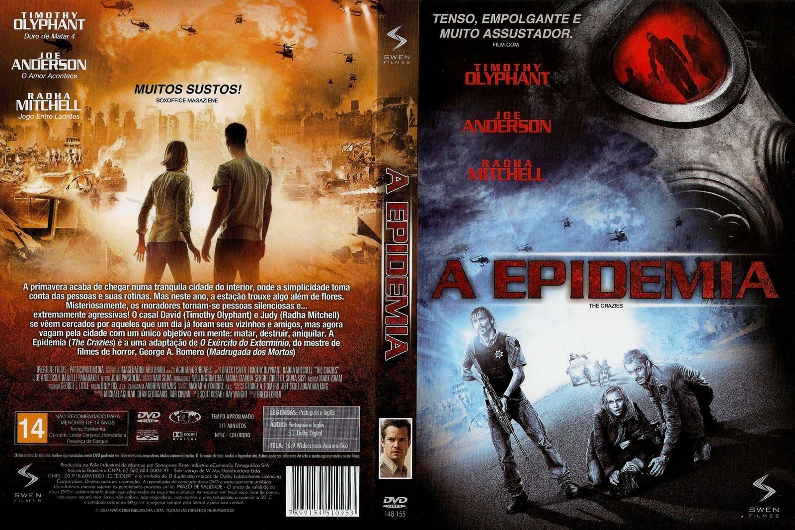 filme a epidemia dublado 2010