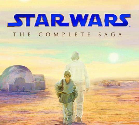 Dicas do dia: Star Wars completo em Blu-ray na Terra da Rainha por 133 pilas!