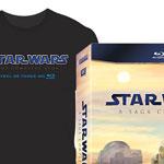 [EXPIRADO] Dica rápida: Star Wars Saga Completa brazuca com camiseta pelo menor preço!