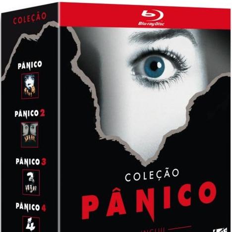 Box com a quadrilogia Pânico em Blu-ray para AGOSTO no Brasil!