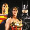 Caixas com filmes e animações da DC Comics em Blu-ray e DVD na França
