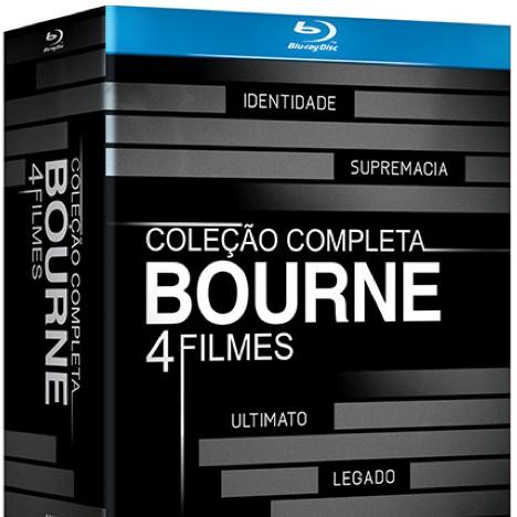 #DICA – Coleção Bourne Completa em Blu-ray por 80 Reais E MAIS!