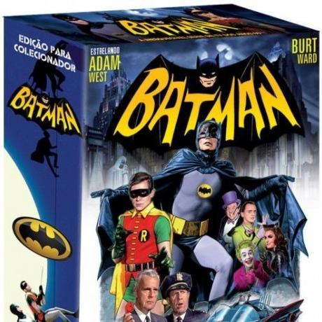 """CUIDADO! """"Edição para Colecionador"""" da série clássica do Batman em pré-venda no Brasil"""