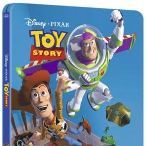 SteelBook de Toy Story em Blu-ray para todos nós chorarmos novamente!