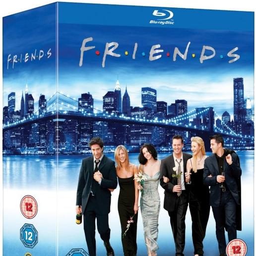 #DICA – FRIENDS completo em Blu-ray DESPENCANDO e MAIS!
