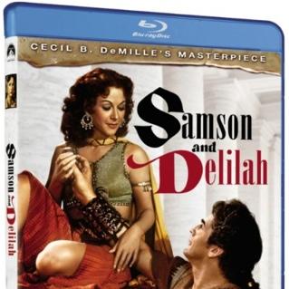 Blu-ray de Sansão e Dalila em pré-venda nos EUA com PT-BR!