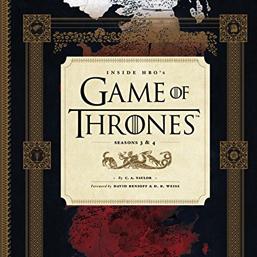 Livro Inside HBO's Game of Thrones: Seasons 3 & 4 em pré-venda nos EUA!