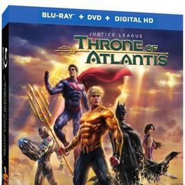 Edições de Justice League: Throne of Atlantis em pré-venda nos EUA para janeiro