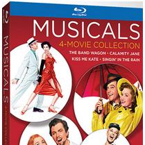 Coleção com 4 filmes musicais clássicos em Blu-ray já pode ser reservado nos EUA