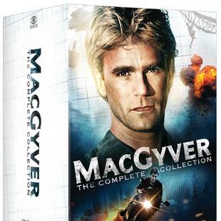 Nova coleção completa de MacGyver em DVD nos Estados Unidos!