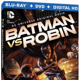 Animação Batman vs Robin em Blu-ray nos EUA para abril