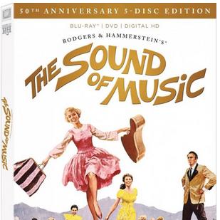 E lá vamos nós! Edição comemorativa de A Noviça Rebelde em Blu-ray nos EUA