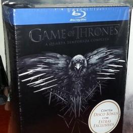 Primeiras imagens da quarta temporada de Game of Thrones em Blu-ray no Brasil