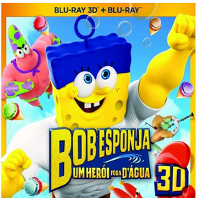Edições de Bob Esponja - Um Herói Fora D'água em pré-venda no Brasil