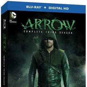 Terceira temporada de ARROW em Blu-ray já pode ser reservada nos EUA