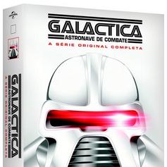 CUÉN! Série original de Battlestar Galactica APENAS EM DVD no Brasil