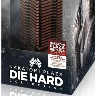 Mais informações do gift set NAKATOMI PLAZA de Duro de Matar em Blu-ray!