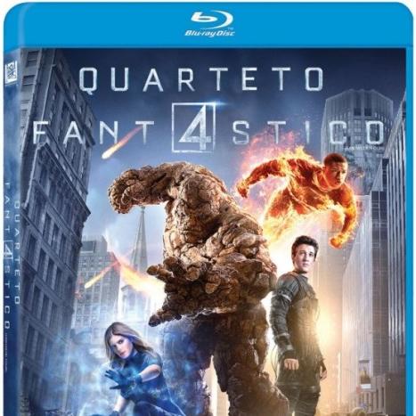 Quarteto Fantástico em Blu-ray e DVD no Brasil para dezembro