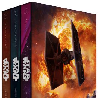 LIVRO   Editora Aleph lançará caixa com a Trilogia Thrawn de Star Wars