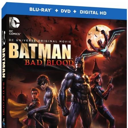 Batman: Sangue Ruim em Blu-ray nos EUA para fevereiro