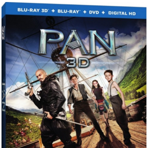 Peter Pan em Blu-ray e Blu-ray 3D, com PT-BR nos EUA