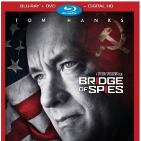 Pré-venda de Ponte dos Espiões em Blu-ray nos EUA