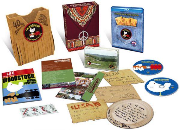 woodstock movie box